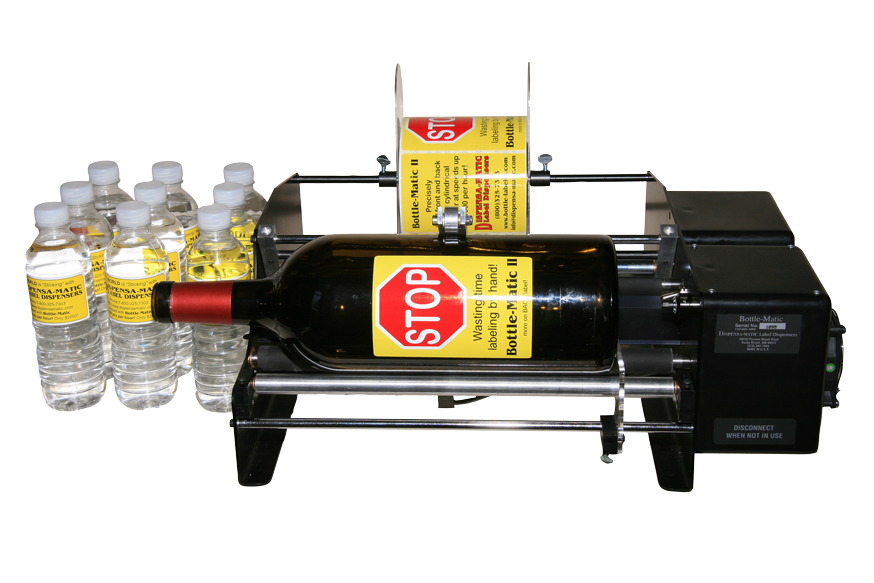 Bottle-Matic labeler/applicator